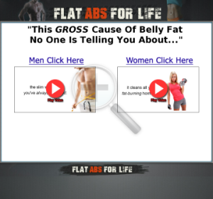 Flat Abs For Life site