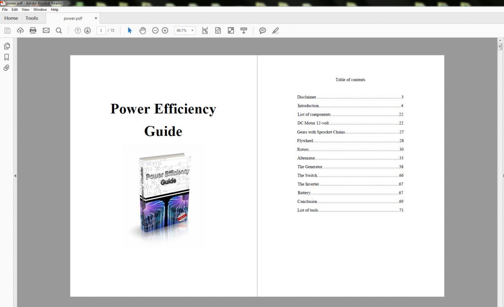 mark edwards power efficiency guide
