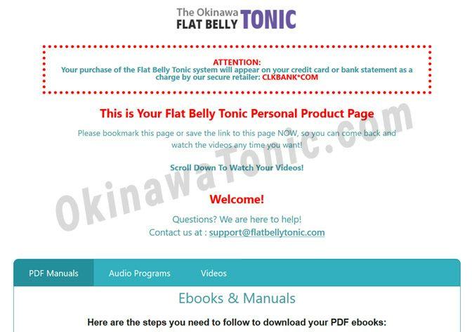 Okinawa Flat Belly Tonic Exercise